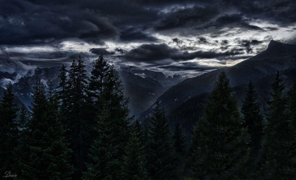 Photo in Landscape #hdr #dolomiti #dolomites #canazei