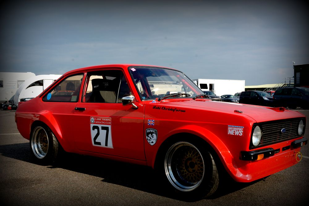 Photo in Vehicle #ford #escort #racing #car