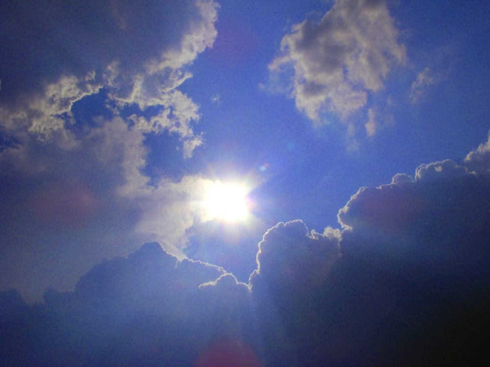 Photo in Nature #sun #clouds #sunny #weather #nature