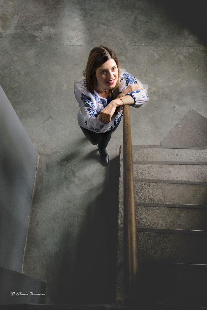 Photo in Portrait #blouse #roumanien blouse #ie