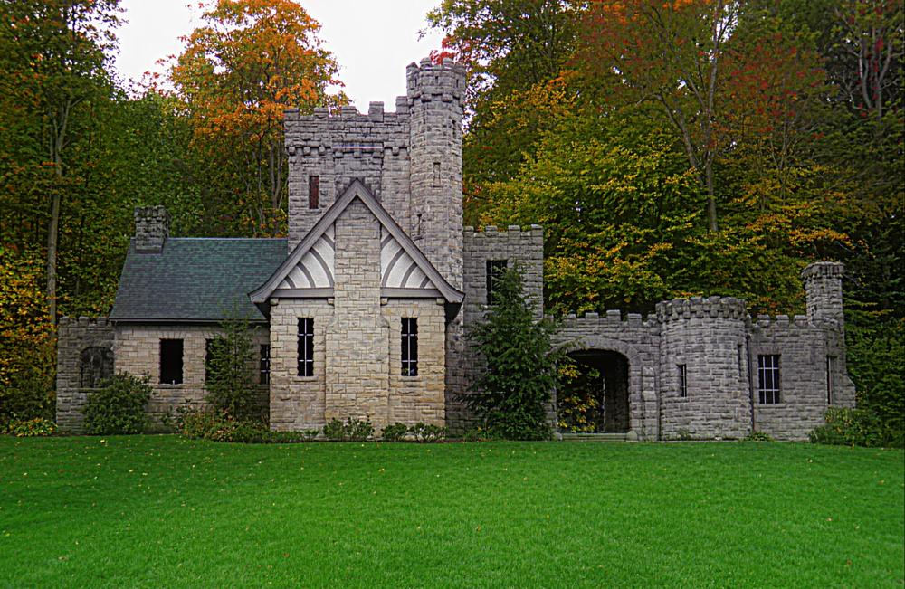 Photo in Architecture #castle #building #stone house #trees #grass