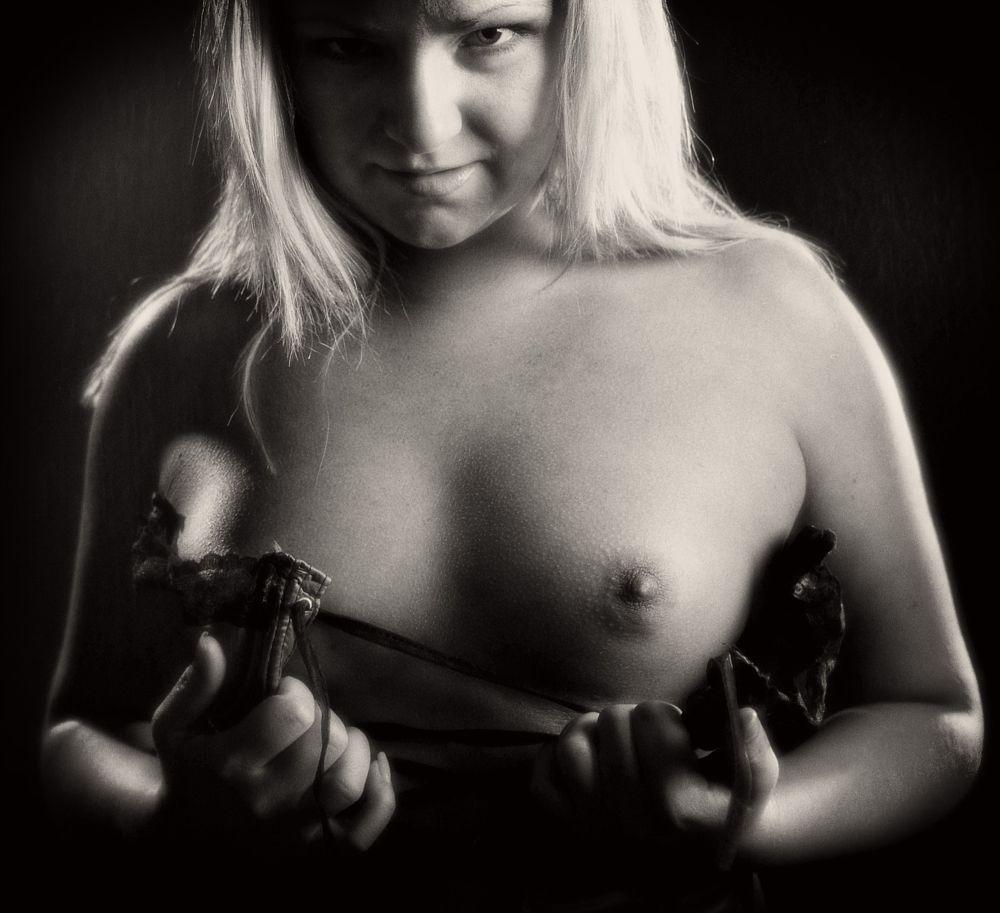 Photo in Nude #nude #nipple #hard #bite #attitude #seductive #sexual