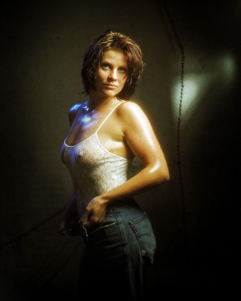 Photo in Nude #seminude #transperant #jeans #body #hard nipples #sexy #seductive