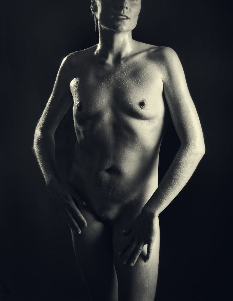 Photo in Nude #nude #mature #slim #proud #breasts #nipples #vulva #sexy