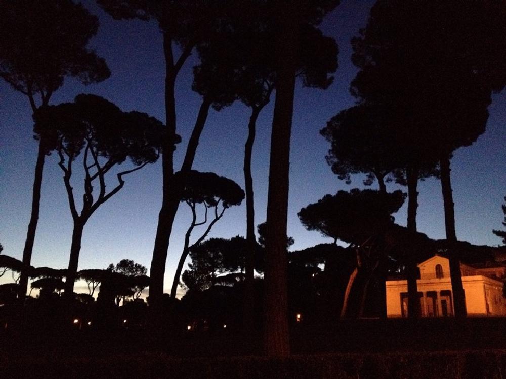 Photo in Cityscape #raffaello #casina di raffaello #villa borghese #church #rome