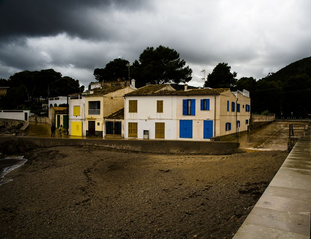 Photo in Landscape #mallorca #cala ratjada #rain #clouds
