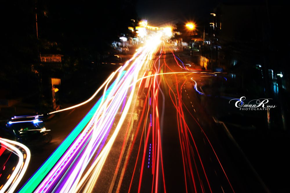 Photo in Cityscape #lights #long exposure #city at night #playing with light