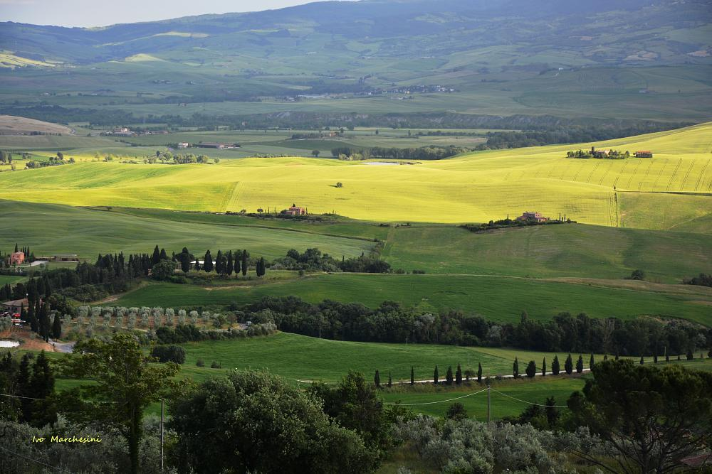 Photo in Landscape #toscana #tuscany #val d'orcia