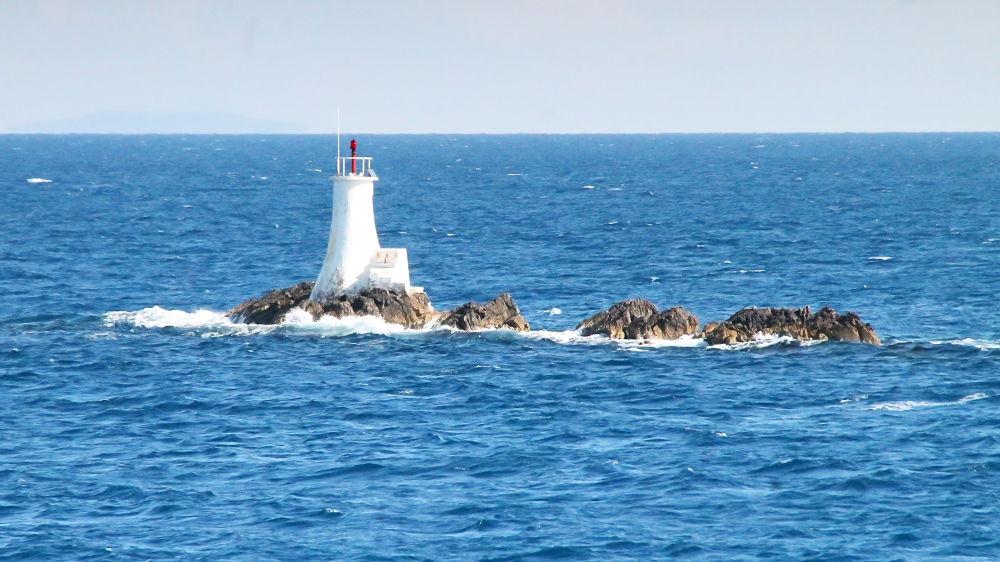 Photo in Travel #lighthouse #sea #ypa2013 #adriatic #adriatic sea #rocks #canon #blue #water #croatia #europe