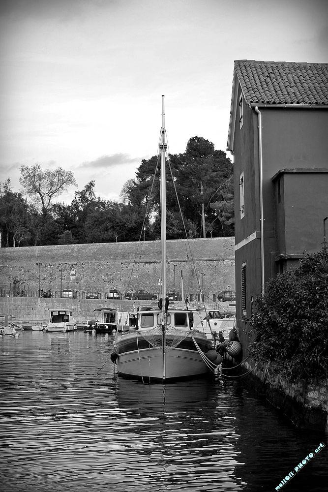 Photo in Black and White #zadar #croatia #europe #black and white #b&w #b&w by malioli