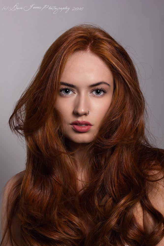 Photo in Random #portrait #red hair #beauty #face #women
