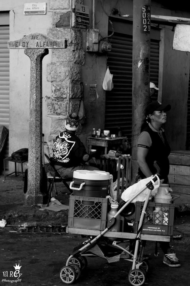 Photo in Urban #streetcontest #panama #black and white #urban #central america #latin