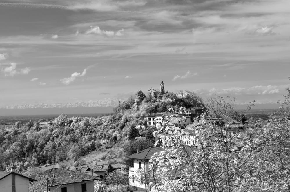 Photo in Landscape #avolasca #tortona #piemonte #italy #landscape #b&w