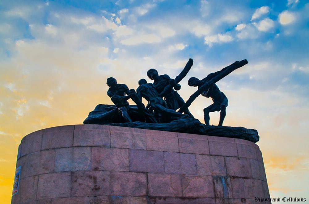 Photo in Architecture #labour statue #chennai #labour statue at chennai