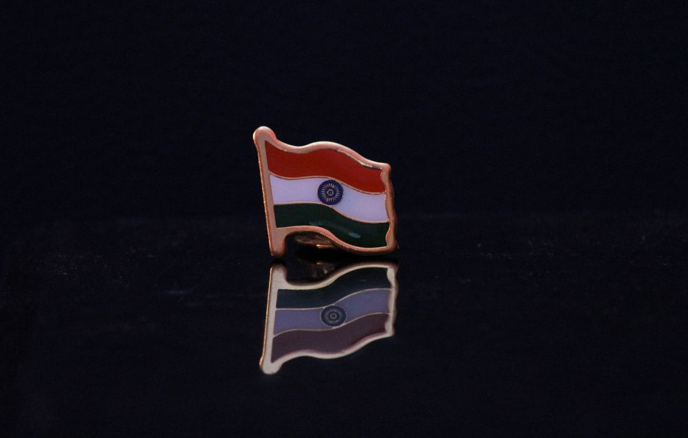 Photo in Product #experiment #light #flash #natural #home #learning #product #shoot #reflection #indian #flag #beautiful #colors #piyushrsharma #jaipur #rajasthan #india #canon