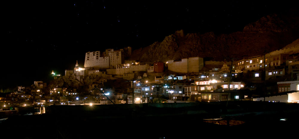 Photo in Random #castle #india #nightshot #leh