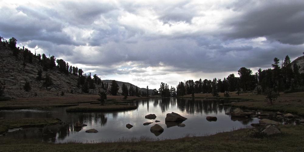 Photo in Landscape #pond #reflection #yosemite #john muir trail