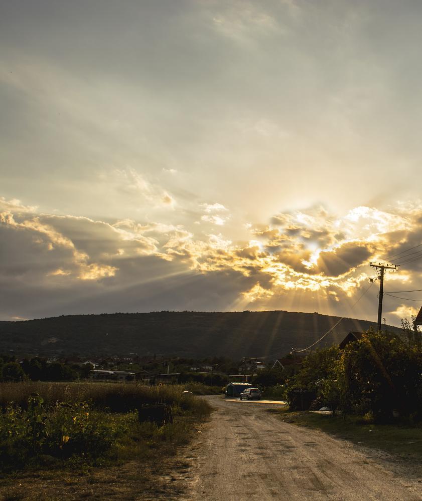 Photo in Random #sunset #summer #flares