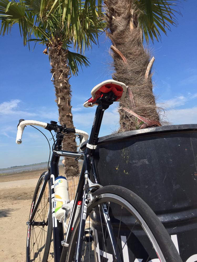 Photo in Random #rennrad #bike #dangast #pause #rest