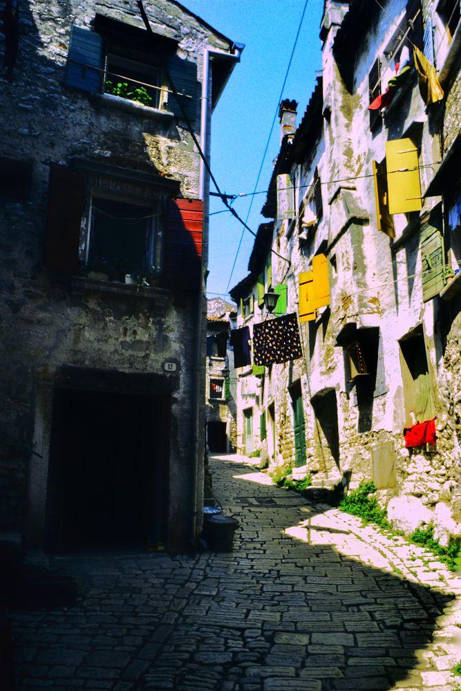 Photo in Random #fenterladen #bunt #kroatien #mediterran