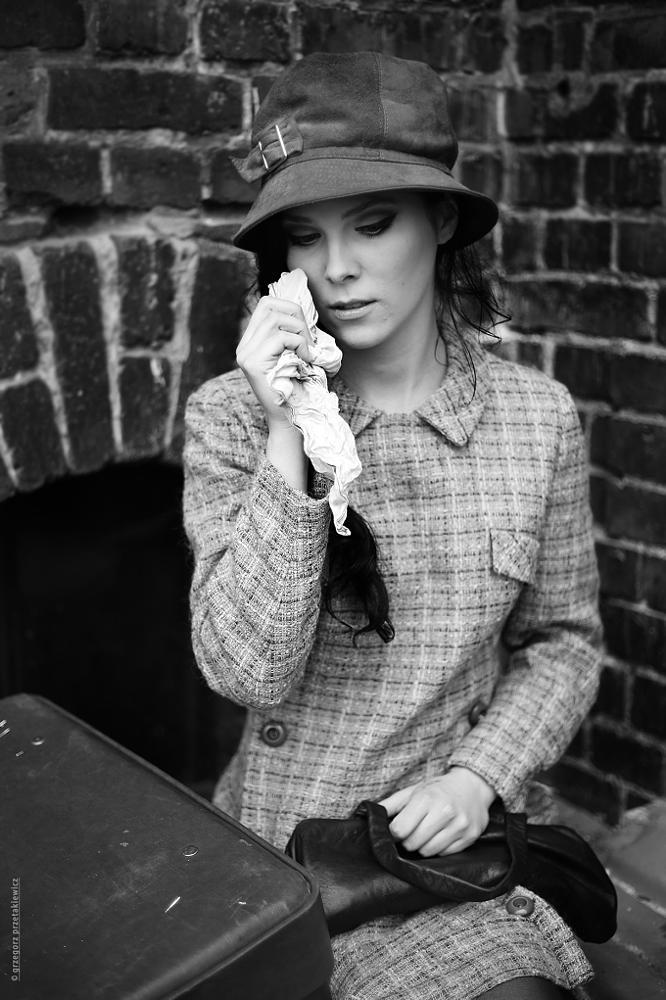 Photo in Portrait #movie #woman #katowice #poland #stylist #fashion #a tear