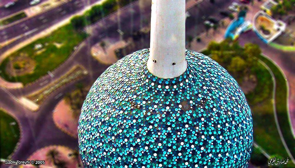 Photo in Abstract #kuwait towers   ابراج الكويت