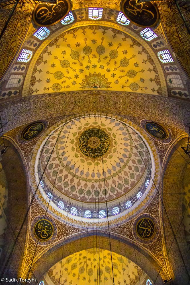 Photo in Travel #istanbul #turkey #yeni camii #yeni mosque #sadik toreyhi