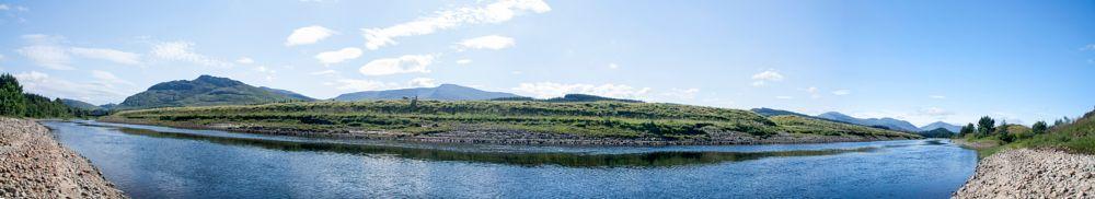 Photo in Landscape #highlands #panorama #summer #scotland
