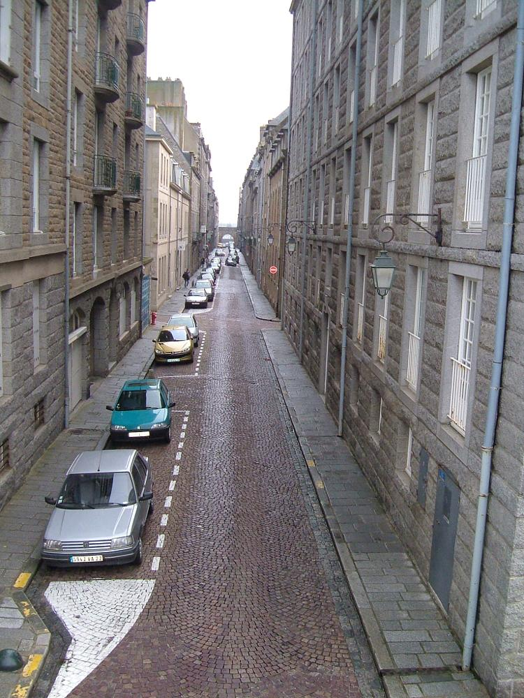 Photo in Architecture #stmalo #france #street #cobbles #city #walled
