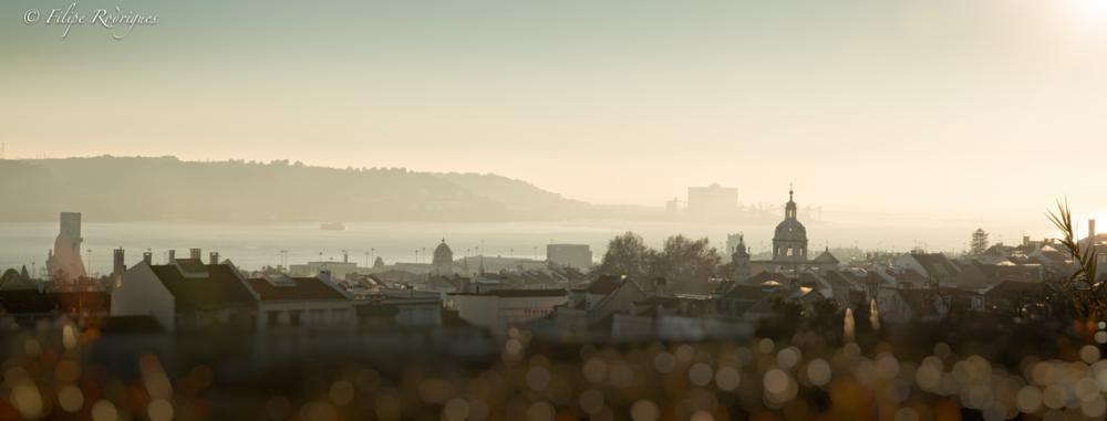 Photo in Cityscape #cityscape #sunset #lisbon #lisboa