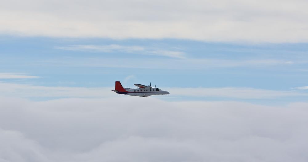 Photo in Random #plane #aeroplane #in flight #sky #clouds