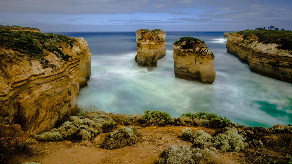Photo in Landscape #gorge #loch #campbell #port #port campbell