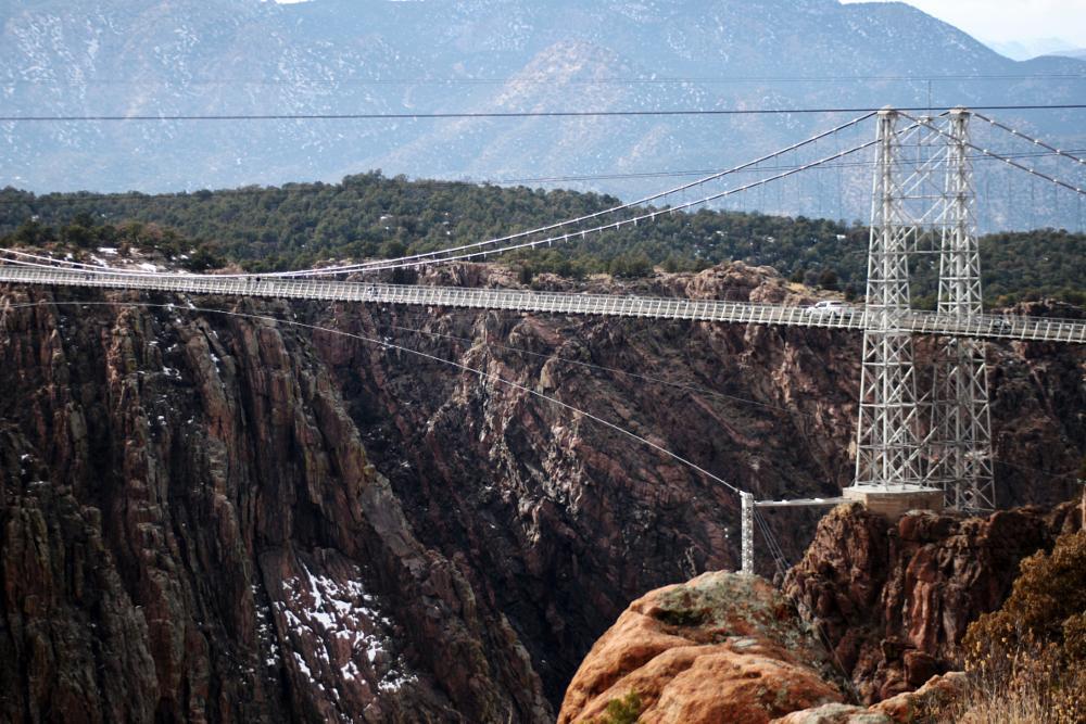 Photo in Landscape #bridge #royalgorge #colorado #nature #breathtaking #cliff