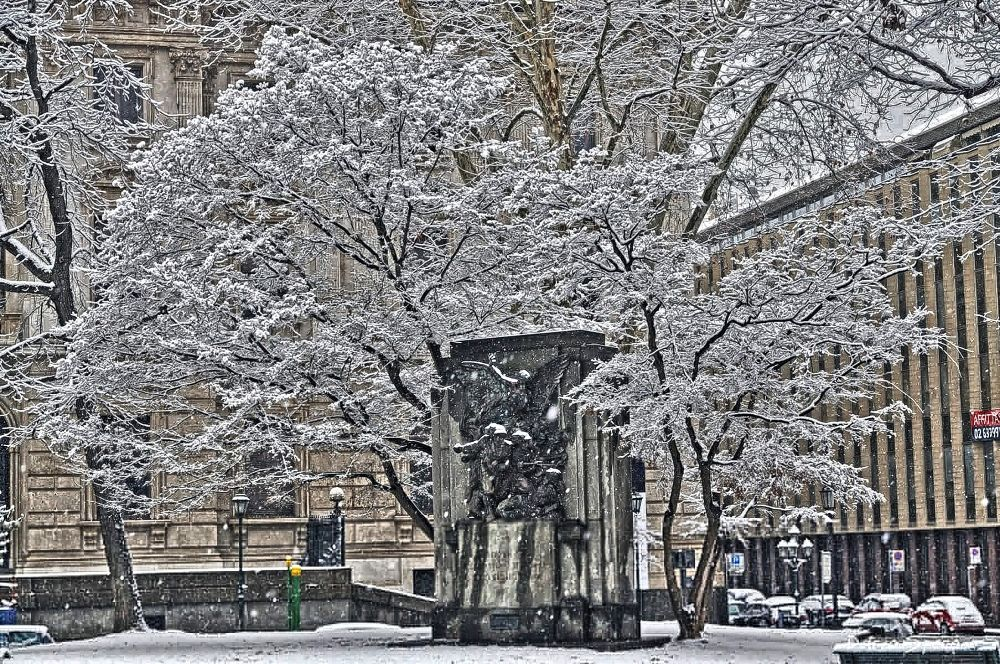Photo in Cityscape #snow #nikon