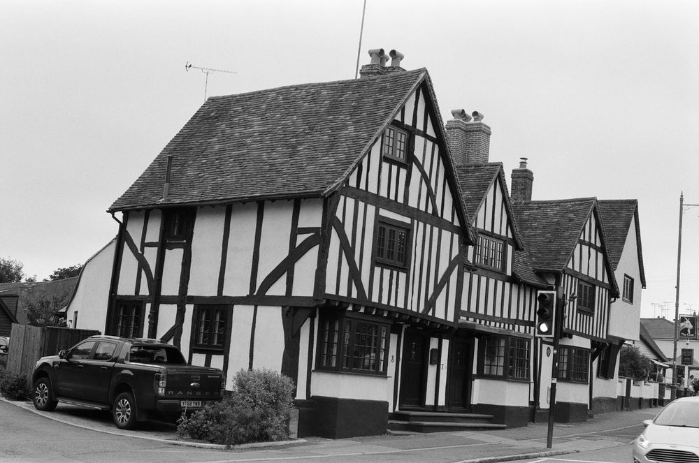 Photo in Black and White #village