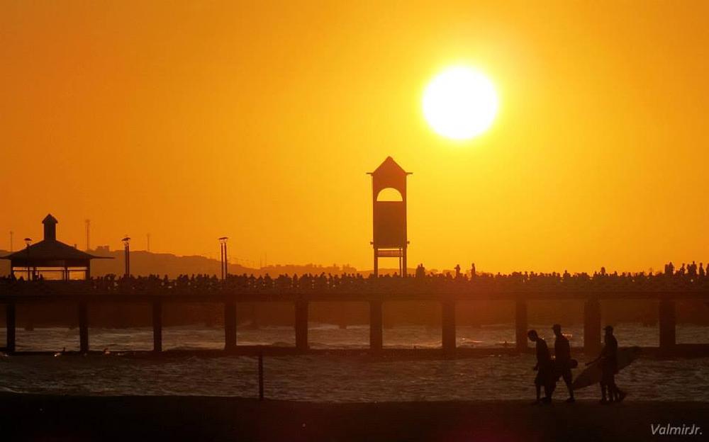 Photo in Landscape #sol #fortaleza #brazil #lindo sol #sunset