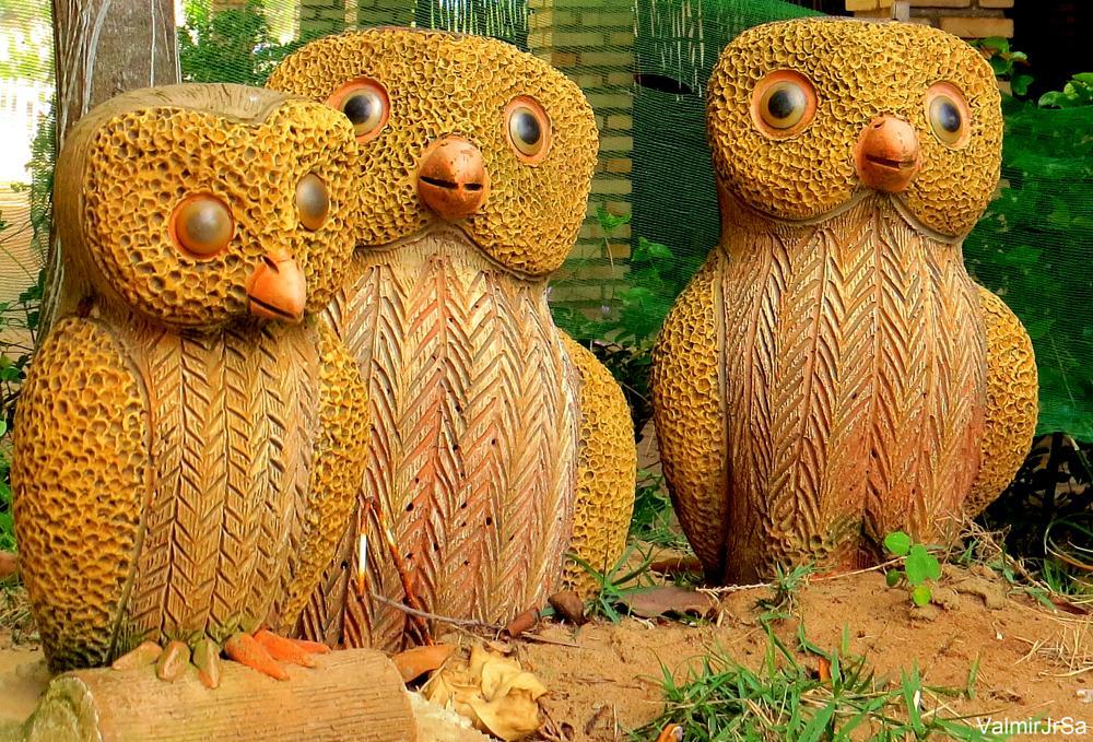 Photo in Fine Art #art #arte #artesanato #coruja #owl #handicraft