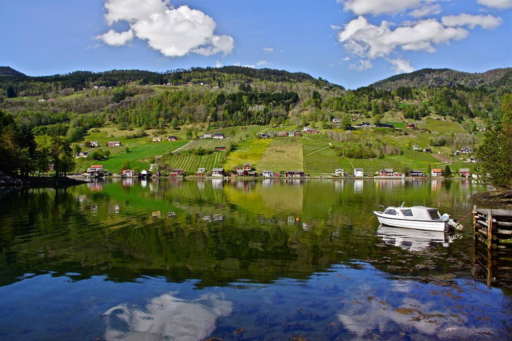 Photo in Landscape #norway #water
