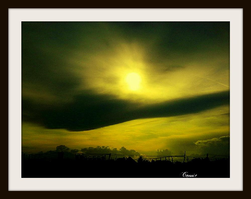 Photo in Landscape #dusk #brewery #yellow #black