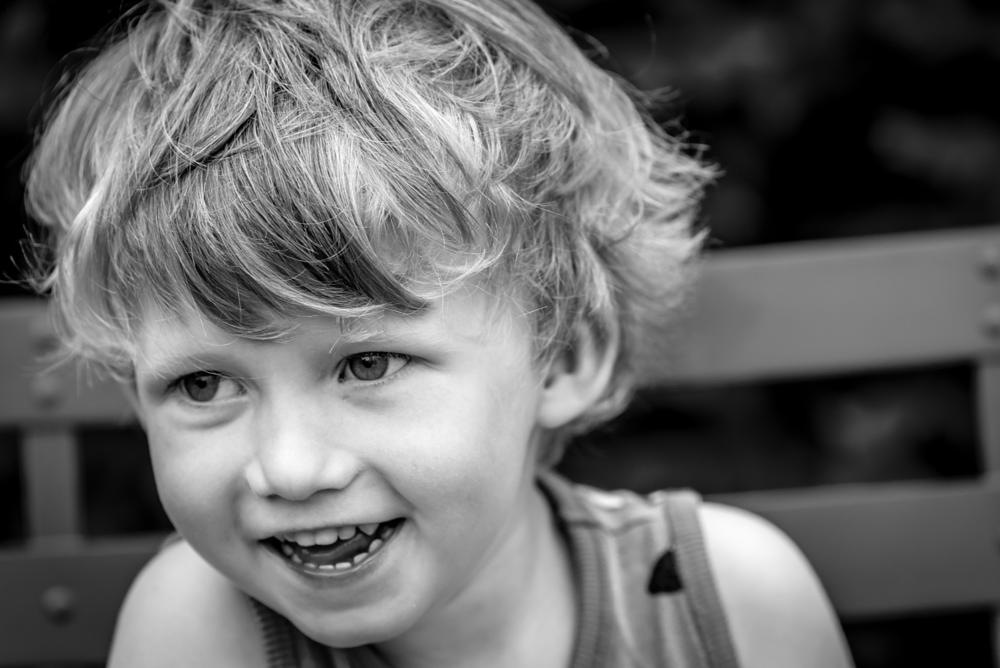 Photo in Portrait #boy #blackandwhite #happy #halmstad