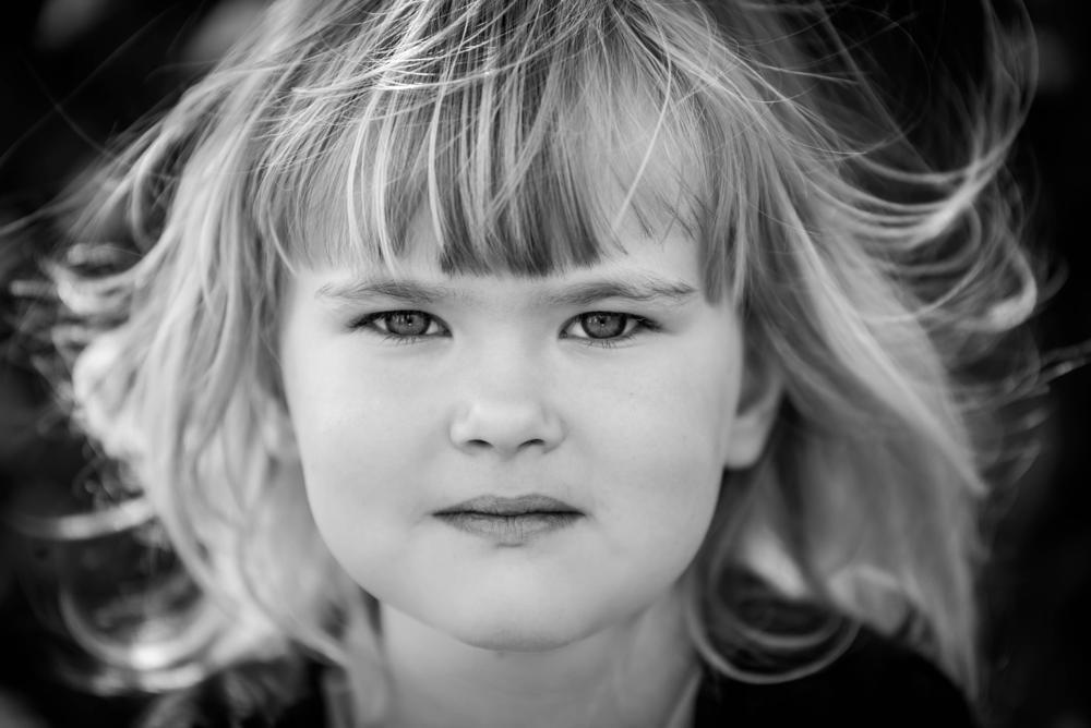 Photo in Portrait #girl #blackandwhite #halmstad