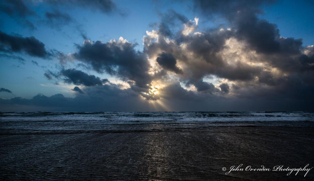 Photo in Sea and Sand #sun #sea #water #sky #cloud #sunset #landscape #jersey