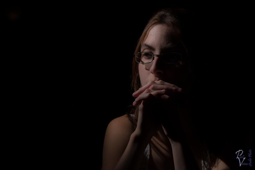 Photo in Portrait #portrait #speedlight #strobist #thinking #thoughful #woman