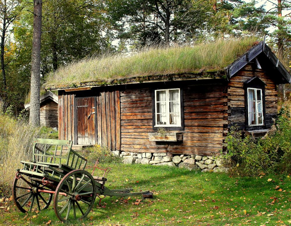 Photo in Nature #cottage #national_park #swedish