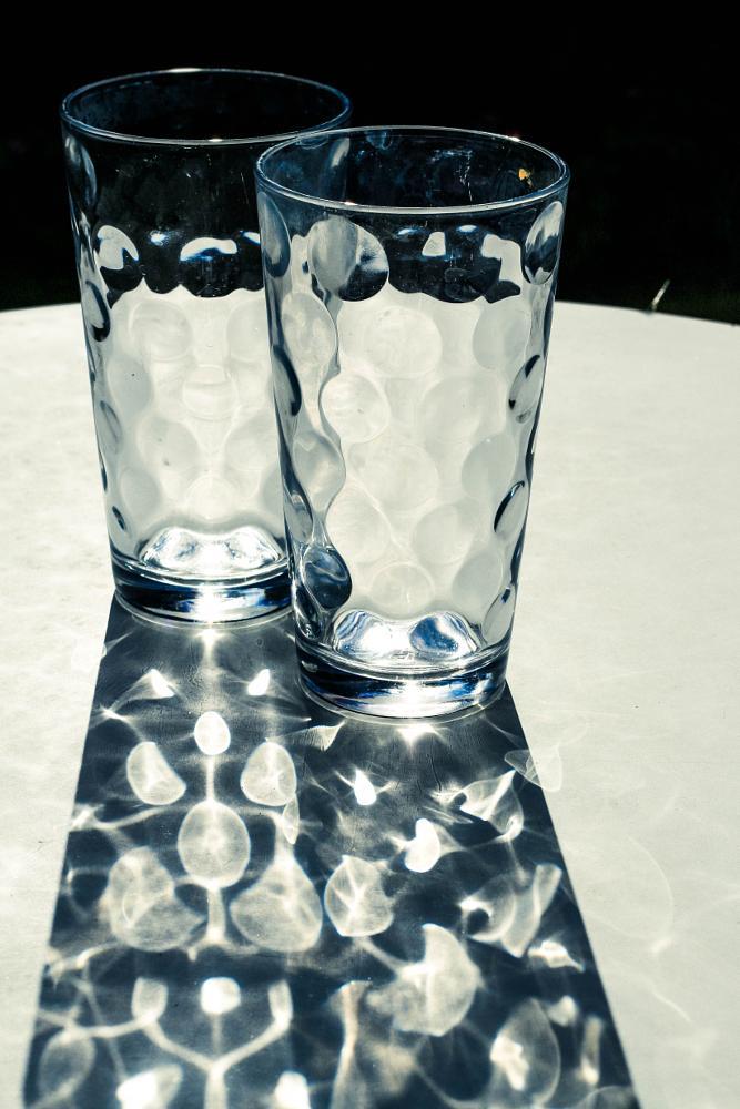 Photo in Still Life #sunlight #shadows #reflection #glass