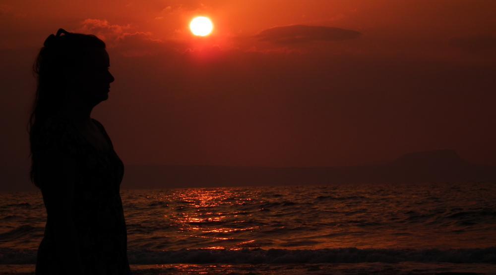 Photo in Portrait #sunset #arkadia #greece