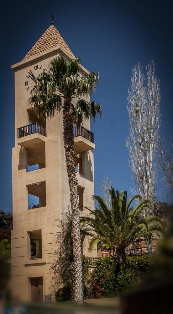 Photo in Urban #tower #palmtree #resort