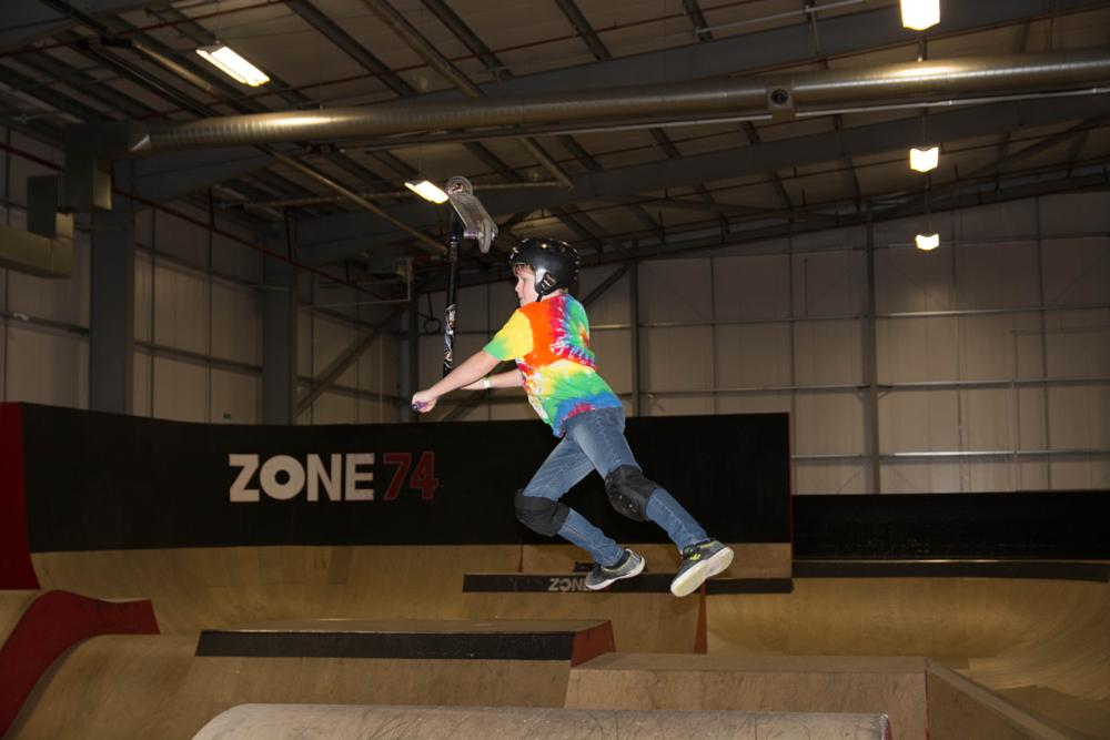 Photo in Sports #skatepark #scooter #trick #scotland #east kilbride