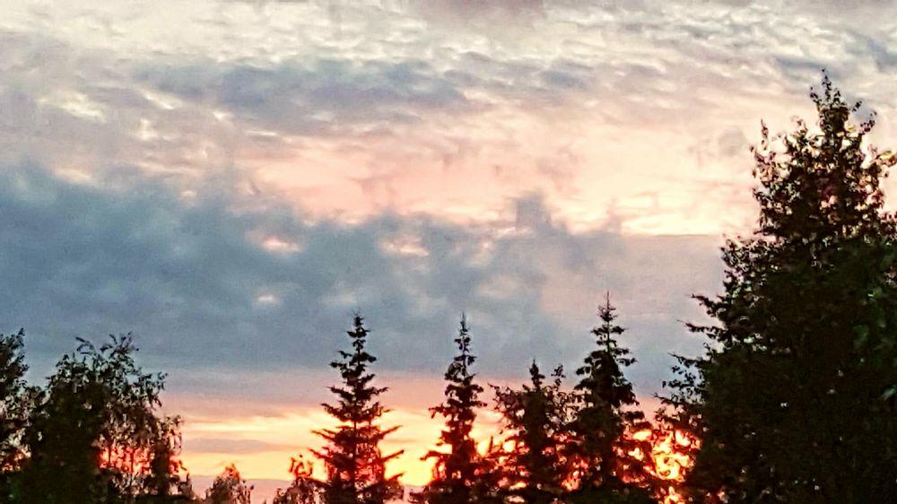 Photo in Landscape #sunsets #past #midnight #alaska