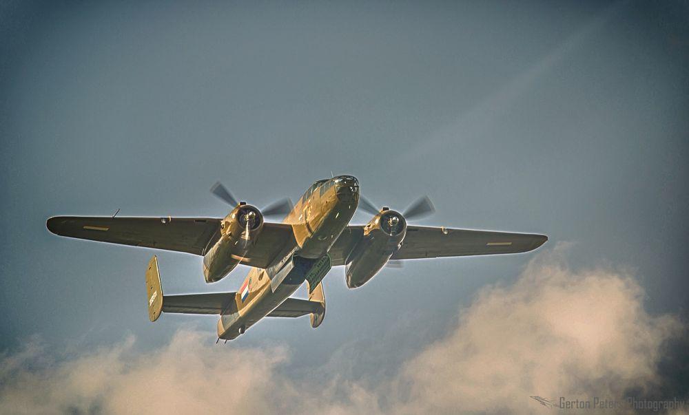 Photo in Vehicle #aviation #aiplane #mitchell #b-25 #ww2 #vehicle